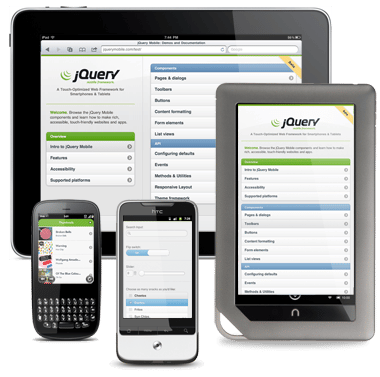 developpement jquery mobile